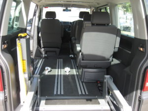 VW Multi Van Floor Layout